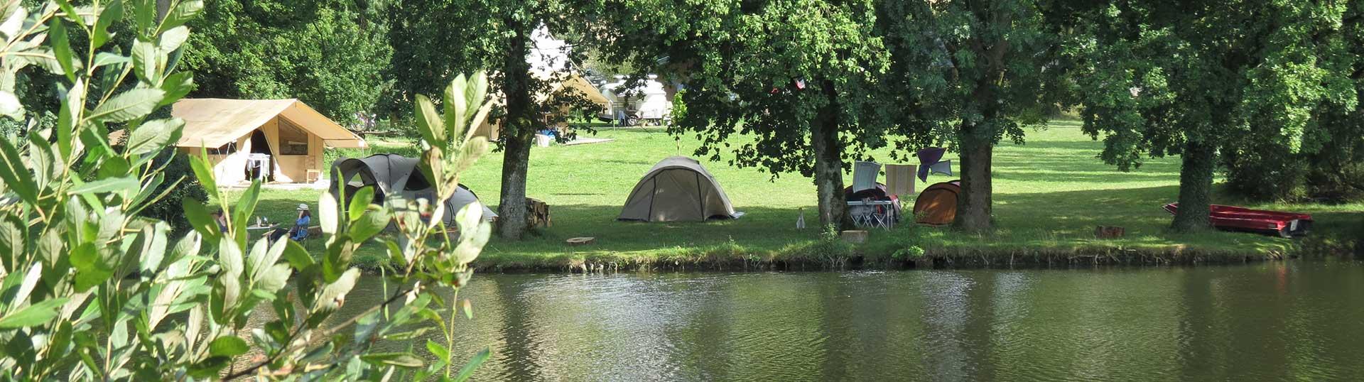 Un camping nature à côté du Puy du Fou
