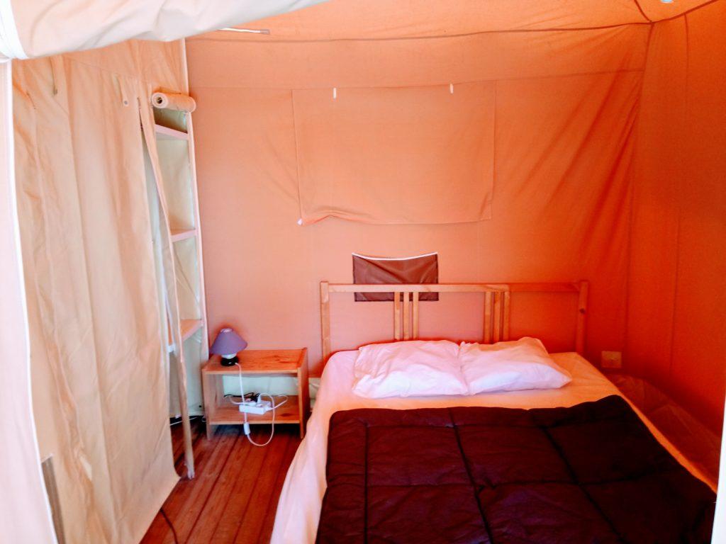 chambre lit double maldives