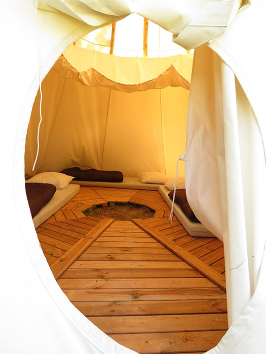 Camping avec un hébergement atypique en Vendée