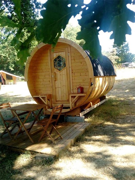 Camping avec hébergement atypique sur le Puy du fou